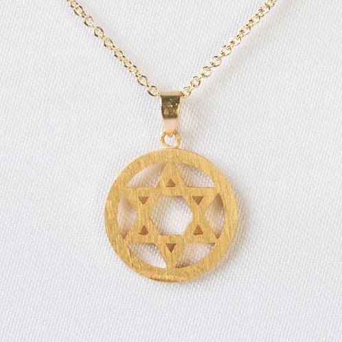 Circle Star of David