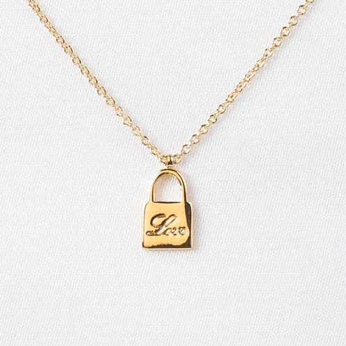 "Petite ""Love"" Lock"