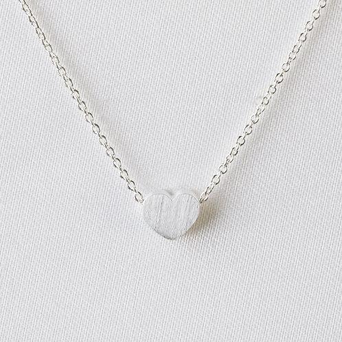 Petite Heart in Silver
