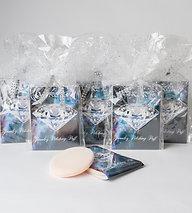 6 Gift Wrapped Parer Jewelery Polishing Puffs