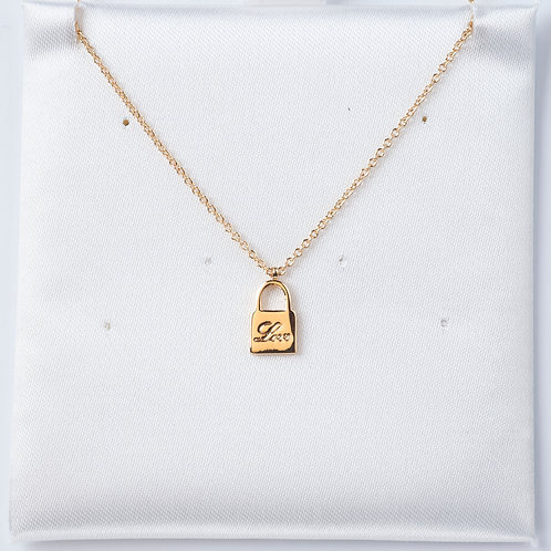 Lock - Gold