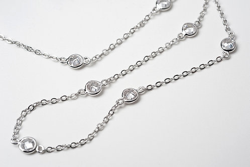 Parer's ( EXCLUSIVE ) CZ by the Yard Necklaces