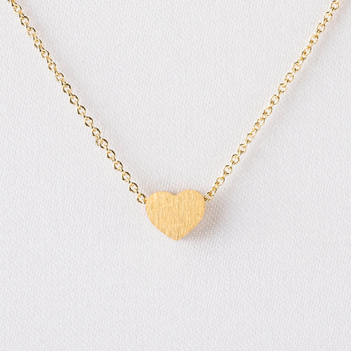 Petite Heart in Gold