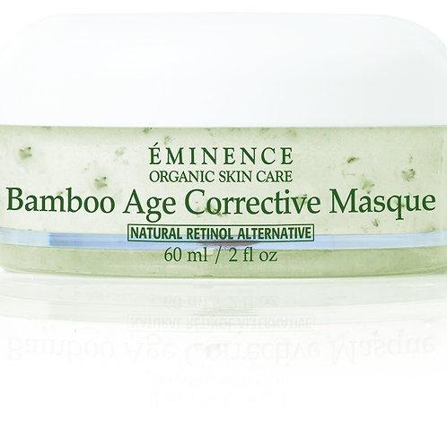 Bamboo age corrective masque