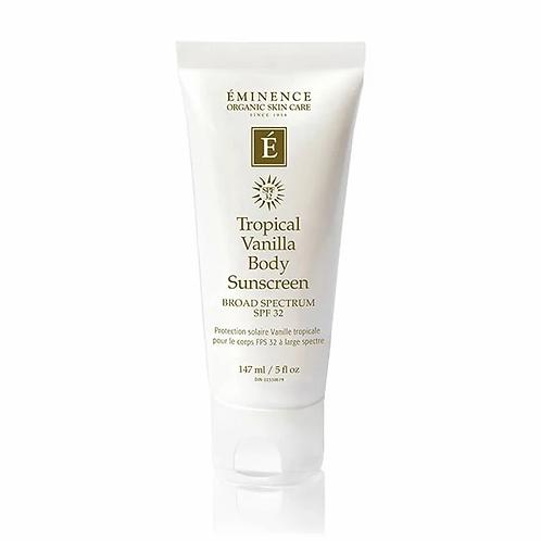 Tropical Vanilla Body Sunscreen SPF32
