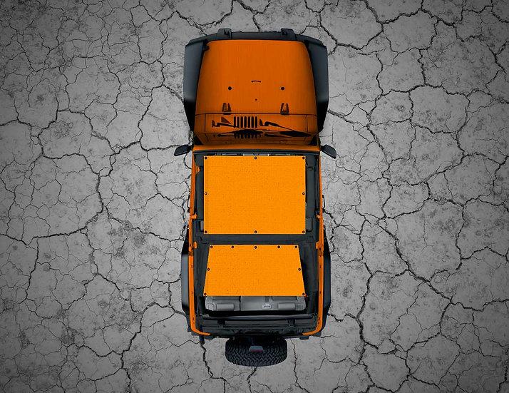 Mojo Jeep- Orange YJ Shade