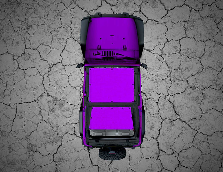 Mojo Jeep- Purple YJ Shade