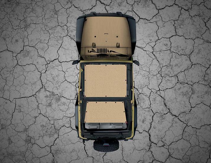 Mojo Jeep- Tan YJ Shade