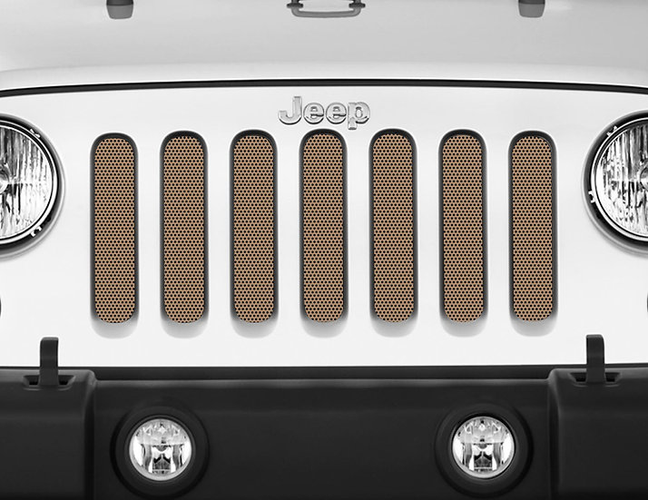 Mojo Jeep Grill Insert- Tan