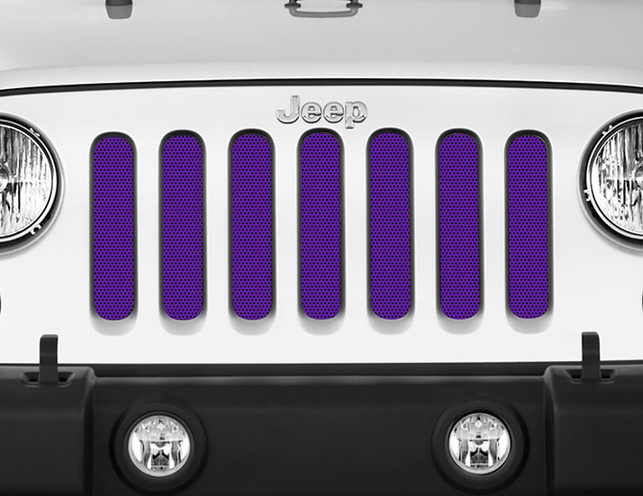 Mojo Jeep Grill Insert- Purple
