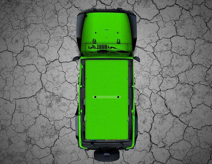 Mojo Jeep- Gekco Green Shade