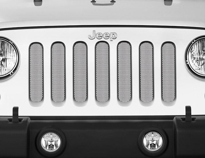 Mojo Jeep Grill Insert- White