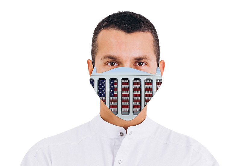 Face Mask Jeep Grill USA