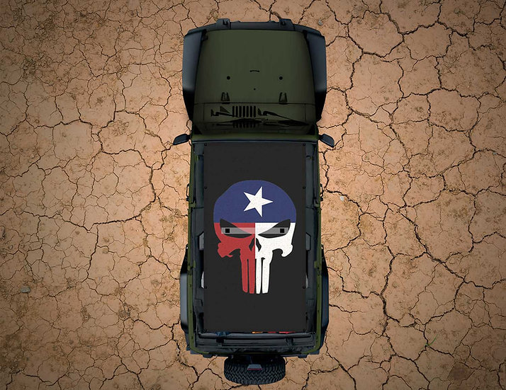 Mojo Jeep - FULL COLOR Texas Punisher