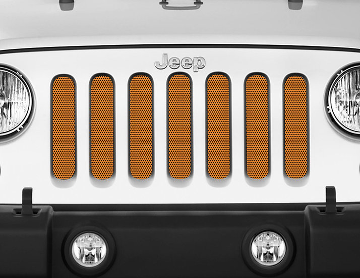 Mojo Jeep Grill Insert- Burnt Orange