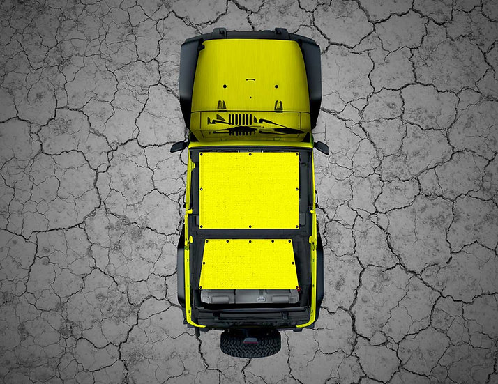 Mojo Jeep- Yellow YJ Shade