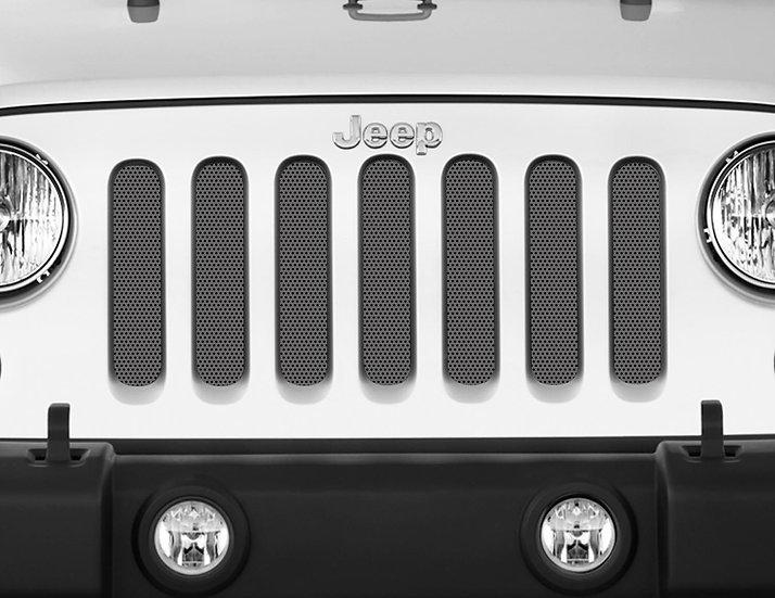 Mojo Jeep Grill Insert- Grey