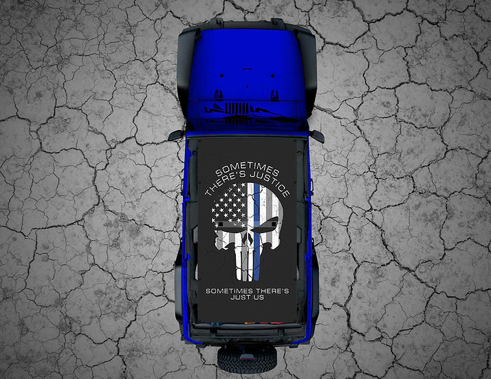 "Mojo Jeep - Subdued USA Punisher ""Justice"" TBL"