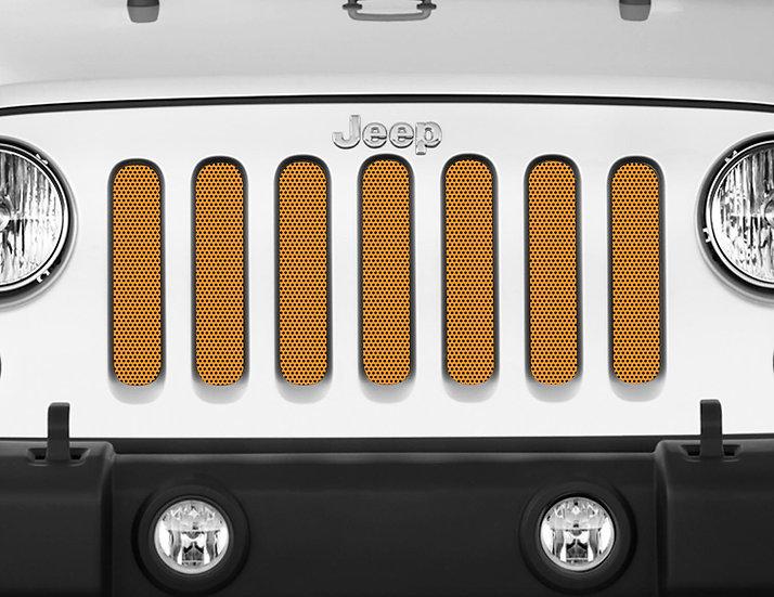 Mojo Jeep Grill Insert- Orange