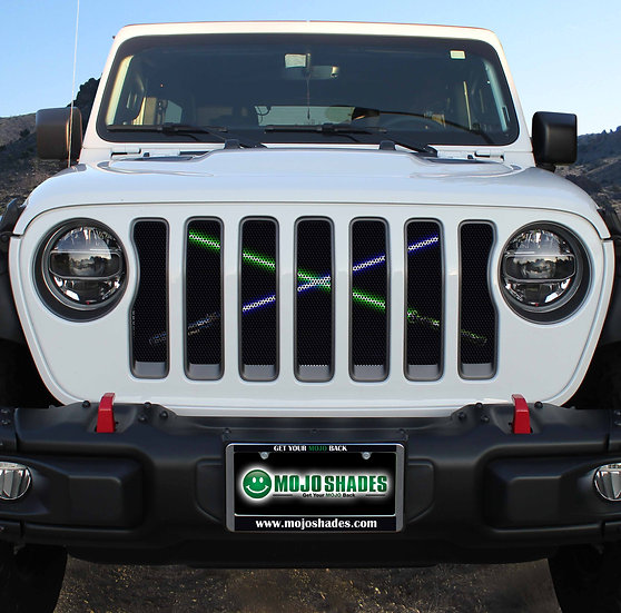 Mojo Jeep Grill Insert- Sabers of Light