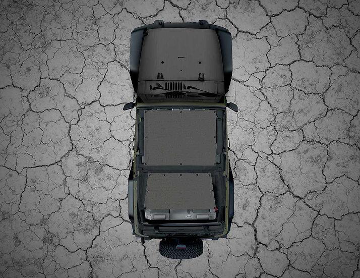 Mojo Jeep- Grey YJ Shade