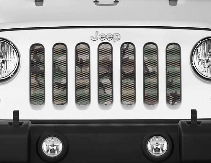 Mojo Jeep Grill Insert- Camo