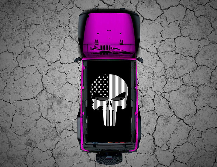 Mojo Jeep -  Subdued US Punisher
