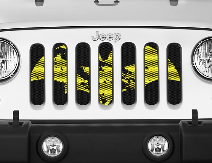 Mojo Jeep Grill Insert- Dark Knight