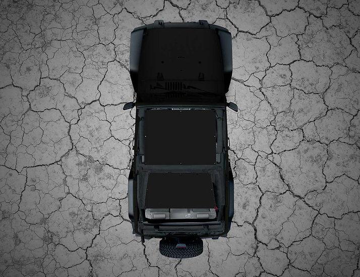 Mojo Jeep- Black YJ Shade