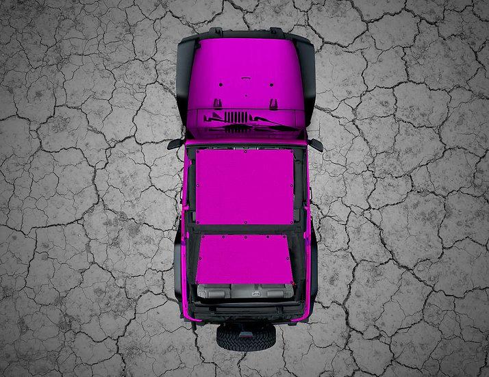 Mojo Jeep- Pink YJ Shade