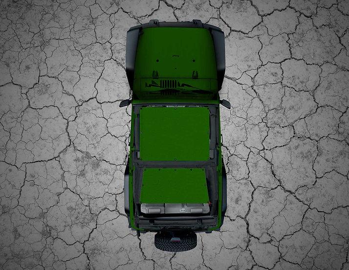 Mojo Jeep- Green YJ Shade