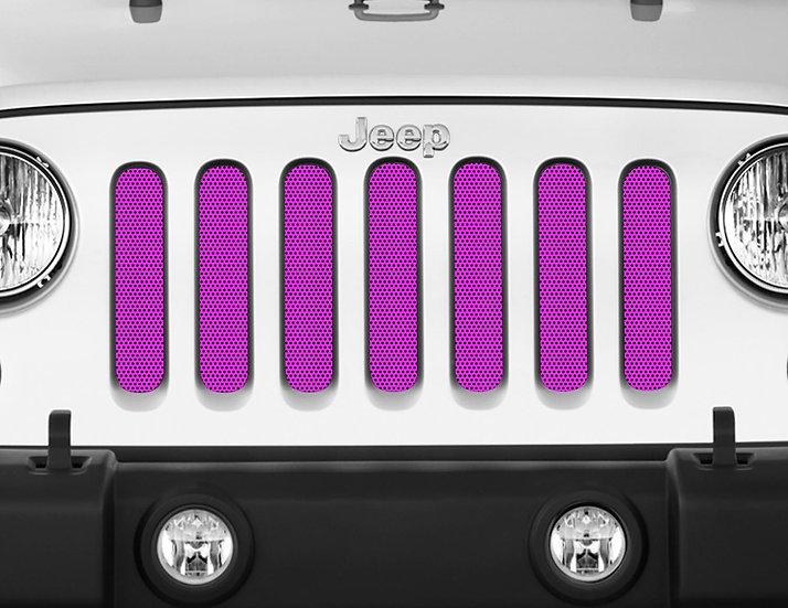 Mojo Jeep Grill Insert- Neon Pink