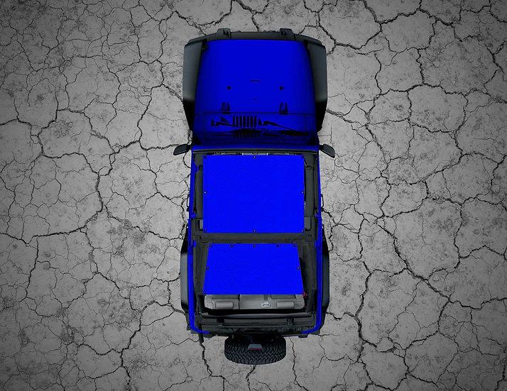 Mojo Jeep- Blue YJ Shade