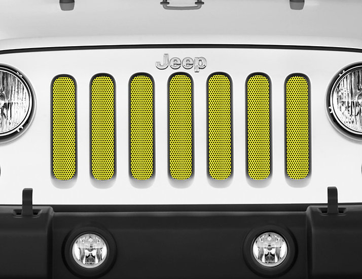 Mojo Jeep Grill Insert- Yellow
