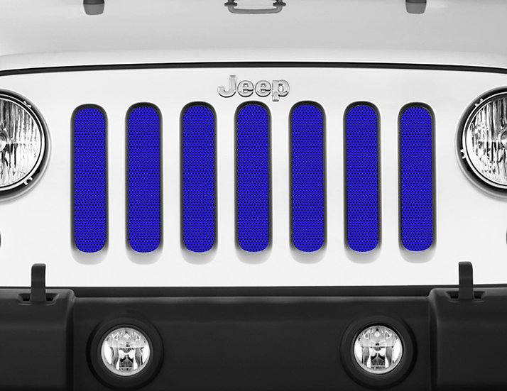 Mojo Jeep Grill Insert- Blue