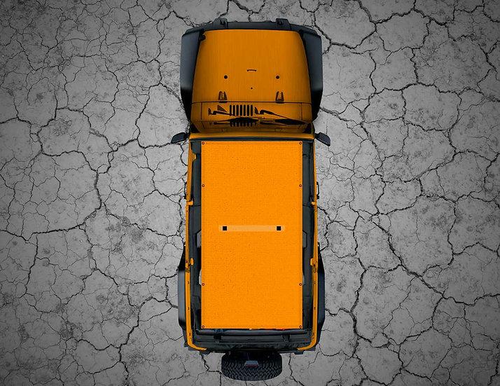 Mojo Jeep- Orange Shade