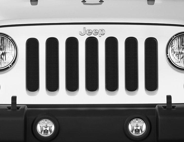 Mojo Jeep Grill Insert- Black