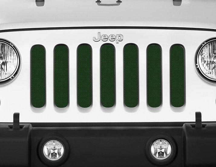 Mojo Jeep Grill Insert- Dark Green