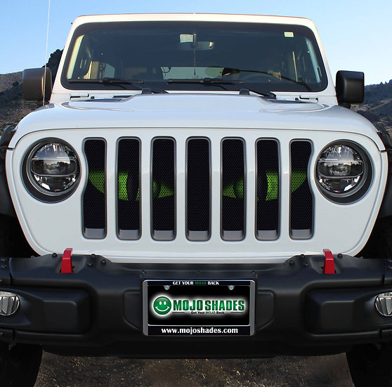 Mojo Jeep Grill Insert- Evil Eyes Choose Color
