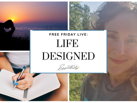 Design Your Life (and Business) in 2021 and Start Now