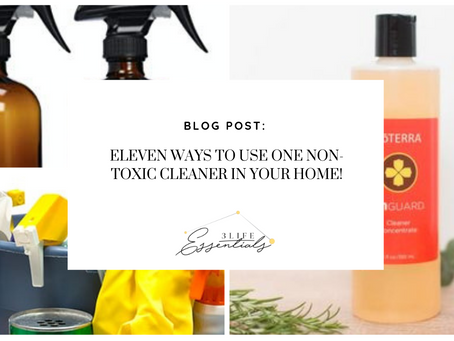 11 Ways to Use One Non-Toxic Cleaner in your home!