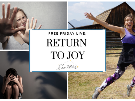 The Big Six Emotions & How to Return to Joy Just Like in the Inside Out Movie