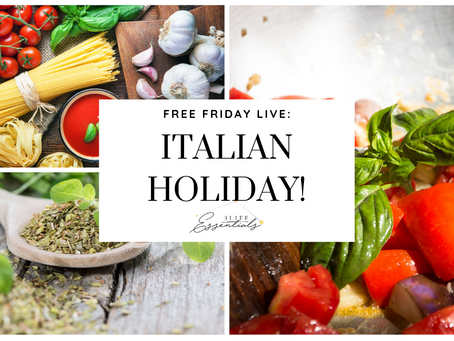Tickle Your Taste Buds With an Italian Holiday Experience in Your Mouth!