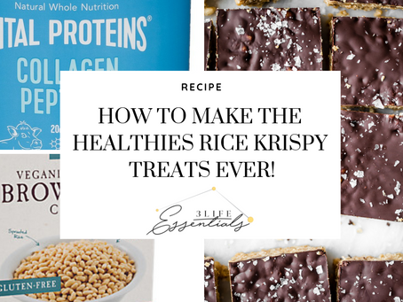 How to Make the Healthiest Rice Krispy Treats Ever!