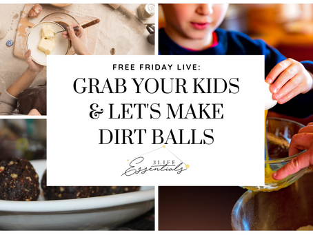 Let's Make Dirt Balls!