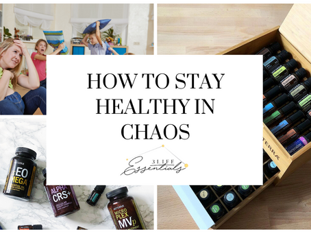 7 Steps for Staying Healthy Amidst Chaos