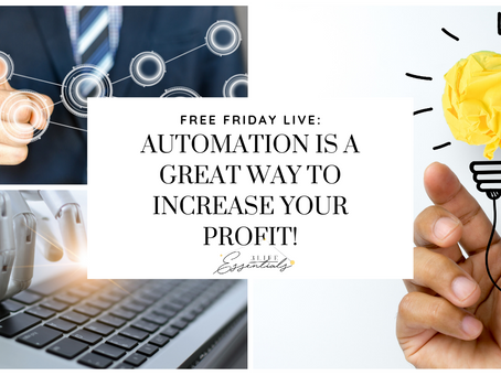 Automation Is A Great Way To Increase Your Profit!