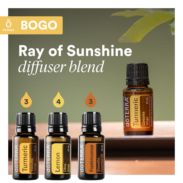 Ray of Sunshine Diffuser Blend