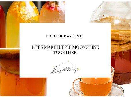 Let's Make Hippie Moonshine!