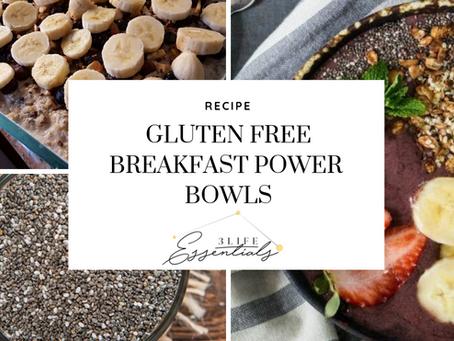 Gluten Free Breakfast Power Bowls
